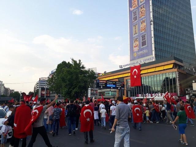 15 Temmuz Günü Ankara