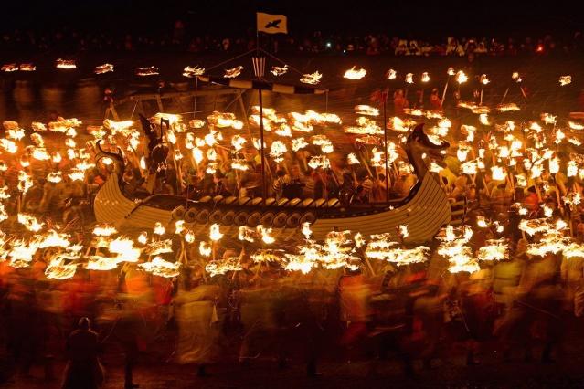 Avrupa'nın En Büyük Ateş Festivali: Up Helly Aa