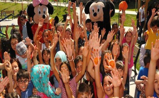 Yenimahalle'de çocuklar sokak oyunlarıyla eğlenecek