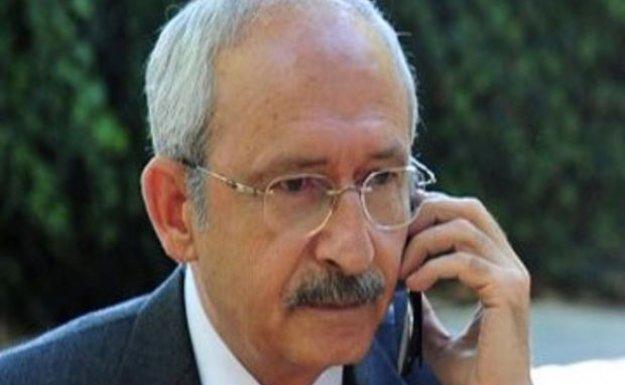 CHP Lideri'nden Sancak'a geçmiş olsun telefonu
