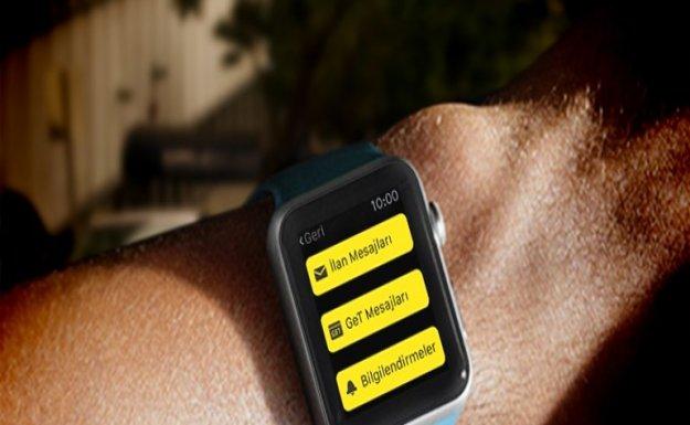 Sahibinden.com'dan Apple Watch desteği geldi