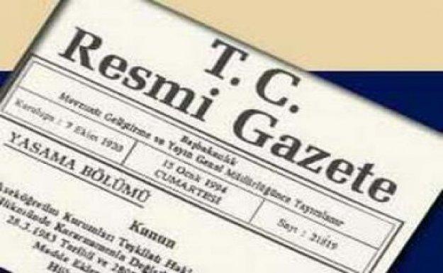 -REKTÖR ATAMA KARARLARI RESMİ GAZETE'DE