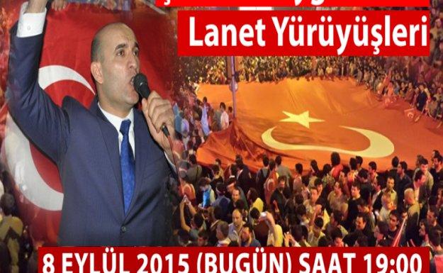 Ülkü Ocakları bugün Türkiye genelinde şehitler için yürüyor