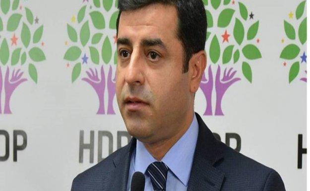 HDP Lideri Demirtaş(1): Arkasında hükümet desteğini hissedip bunları yapanlar, yazık size
