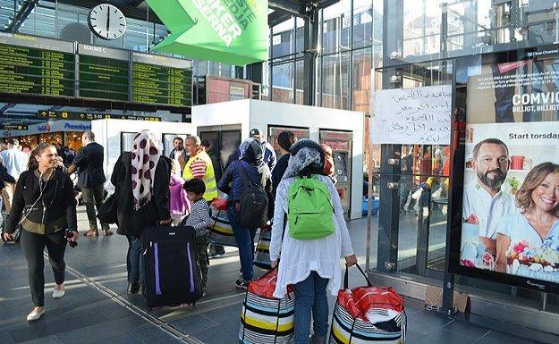 Danimarka'ya 3 günde 3 bin sığınmacı giriş yaptı