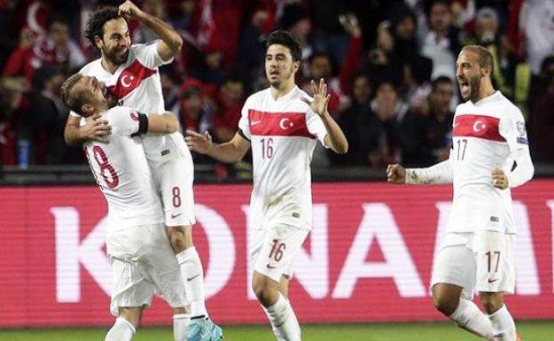 Maç sonucu: Çek Cumhuriyeti 0-2 Türkiye