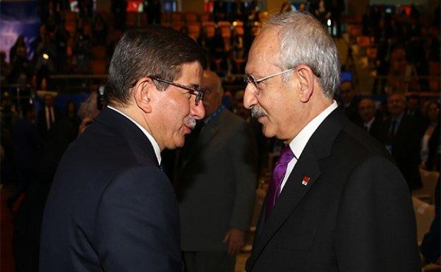 Davutoğlu ve Kılıçdaroğlu Köşk'te görüşecek