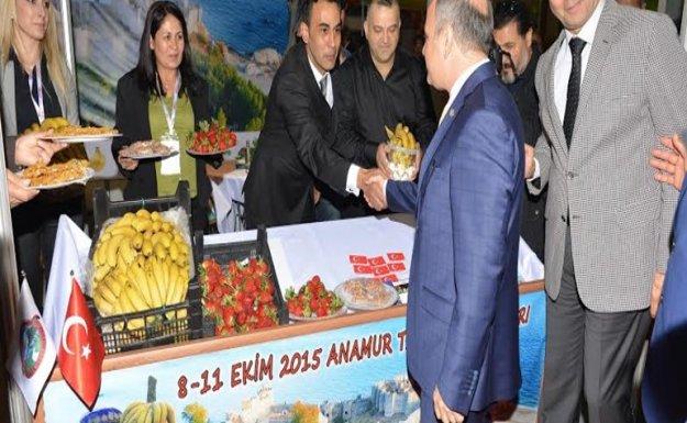 Anamur Tarım ve Gıda Festivali'ne ev sahipliği yaptı