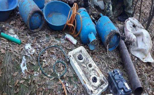Bingöl'de terör örgütüne ait 27 sığınak bulundu