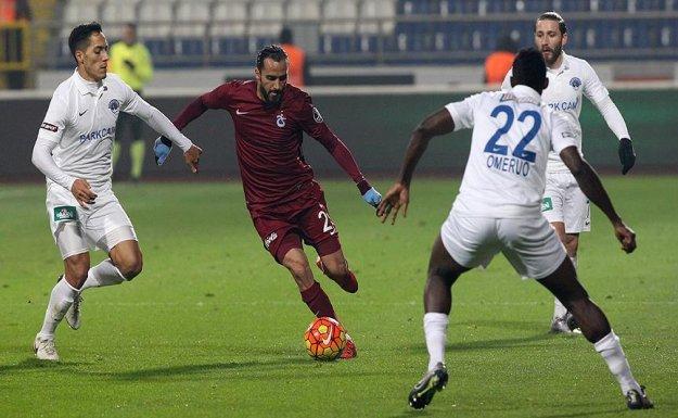 Trabzonspor, Kasımpaşa'dan 1 Puanla Dönüyor