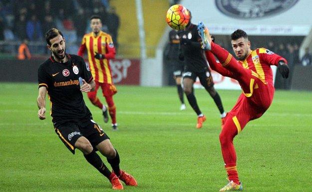 Galatasaray, Kayseri'de de Takıldı