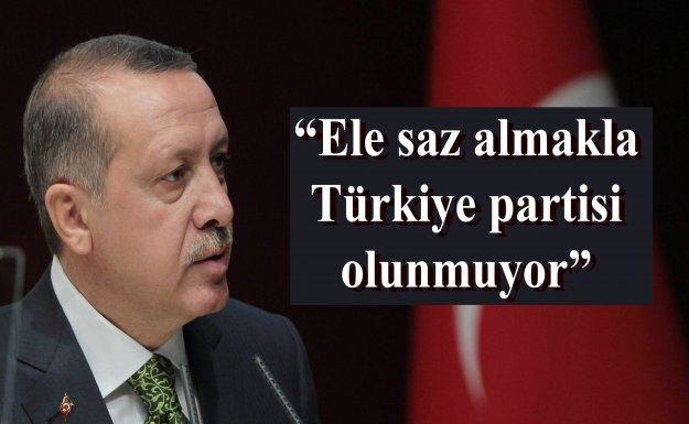Cumhurbaşkanı Erdoğan Demirtaş'a Yüklendi