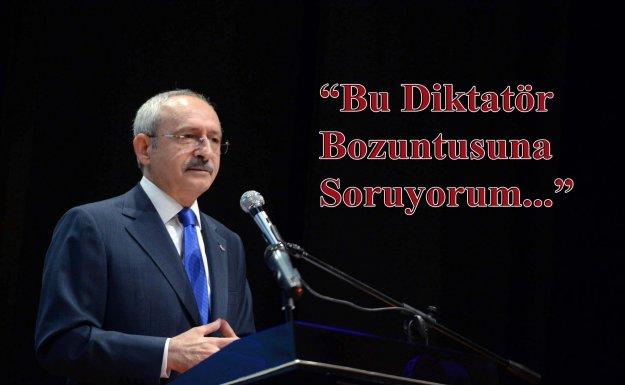 Kılıçdaroğlu: Namus ve Şeref Kavramını Da Mı Sıfırladın?