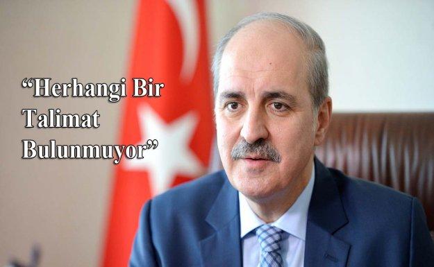 Kurtulmuş'tan Kanaltürk ve Bugün TV Açıklaması