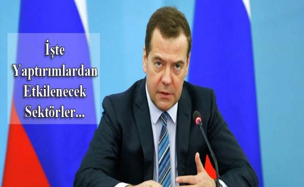 Medvedev Yaptırım Kararını İmzaladı