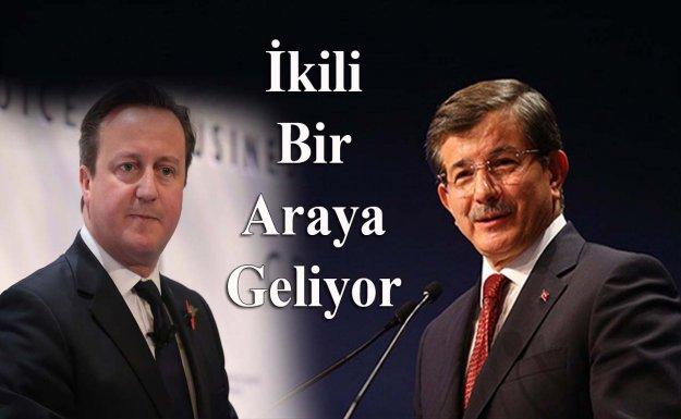 Başbakan Davutoğlu İngiltere'ye Gidecek