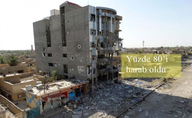 Ramadi Çatışmalarda Harap Oldu
