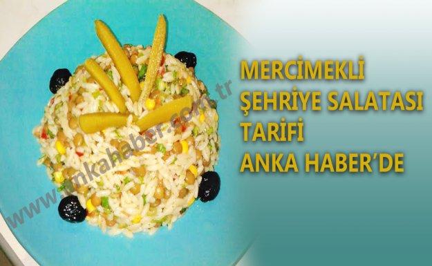 Mercimekli Şehriye Salatası Tarifi