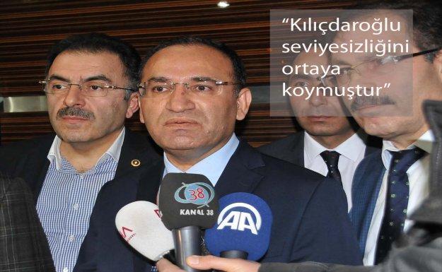 Bozdağ, Kılıçdaroğlu'na Tepki Gösterdi