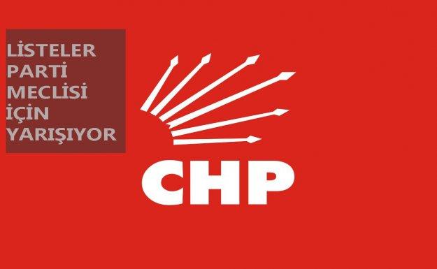 CHP'de Parti Meclisi Seçimi Yapılıyor