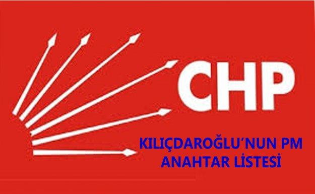 Kılıçdaroğlu'nun 52 Kişilik Anahtar PM Listesi