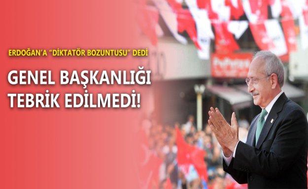 Devletin Zirvesi Kılıçdaroğlu'nu Tebrik Etmedi