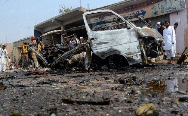 Pakistan'da Patlama : 10 Ölü, 10'dan Fazla Yaralı