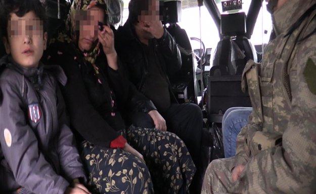 Terör Mağduru Aile Güvenli Bölgeye Alındı