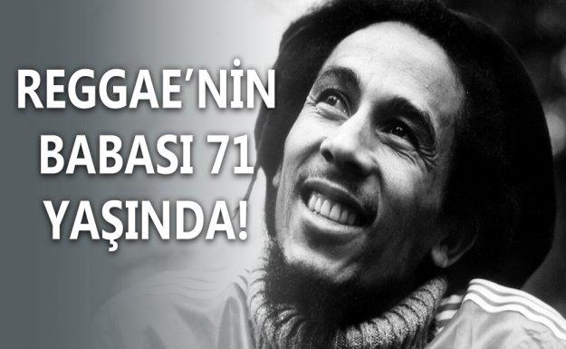Bob Marley 71 Yaşında!
