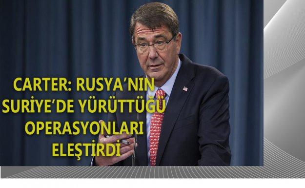 Carter: Rusya, Yanlış Bir Stratejik Yolda