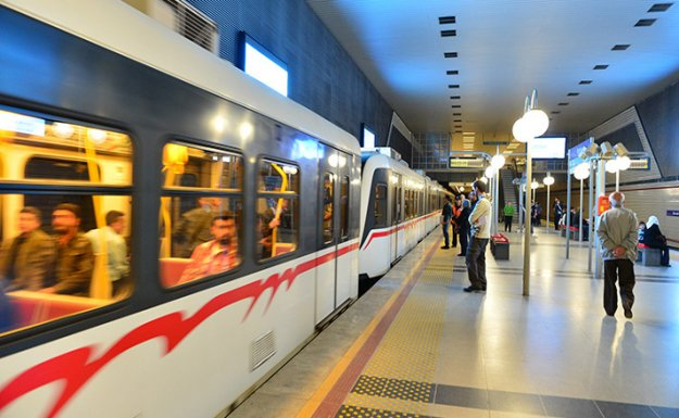 İzmir Metrosunda AÖF Önlemi