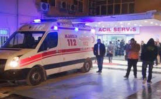 Mardin'de Polis Servis Aracına Saldırı : 10 Yaralı