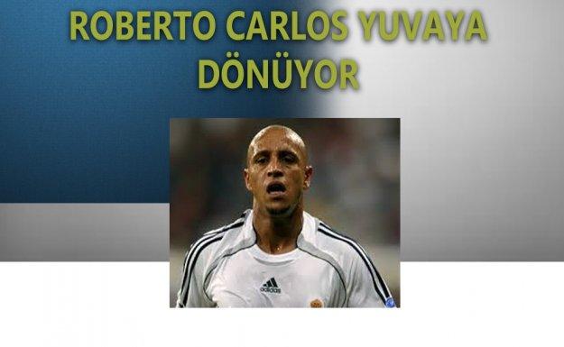 Roberto Carlos Yeniden Real Madrid'de