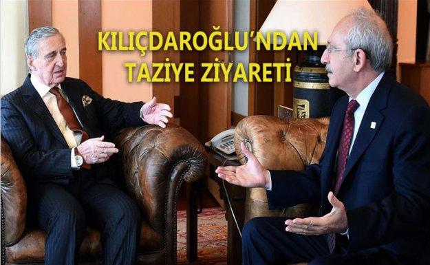 Kılıçdaroğlu'ndan Rahmi Koç'a taziye ziyareti