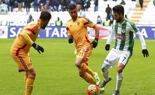 Torku Konyaspor Penaltı Golü ile Kazandı