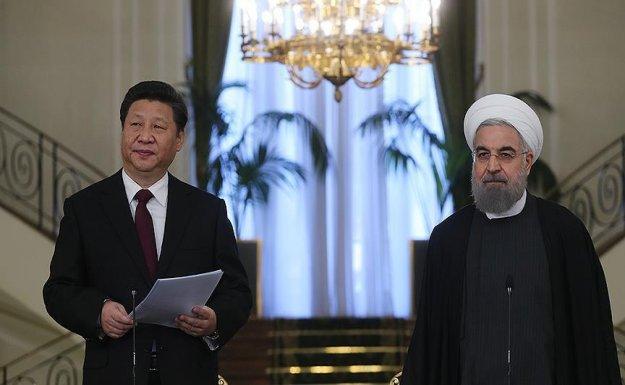 Çin Devlet Başkanı Şi Cinping İran'da