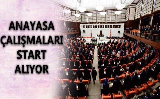 Meclis'in Gündemi Yeni Anayasa