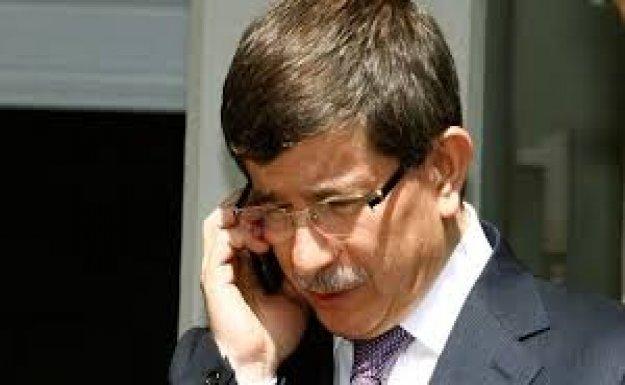 Başbakan Davutoğlu'ndan Nihat Özdemir'e Taziye Telefonu