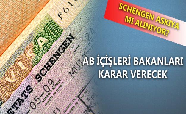 Schengen Askıya Mı Alınıyor?