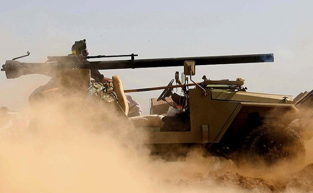 Enbar ve Salahaddin'de 94 terörist öldürüldü