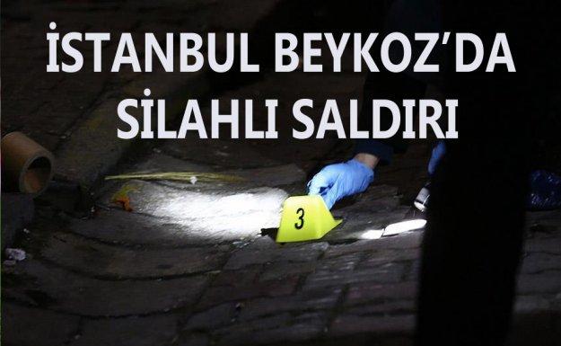 Beykoz'da Silahlı Saldırı: 1 Ölü,1 Yaralı