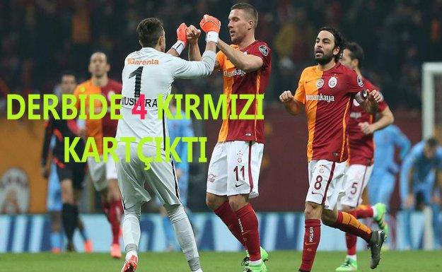 Galatasaray Derbi'de Trabzonspor u 2-1 Yendi