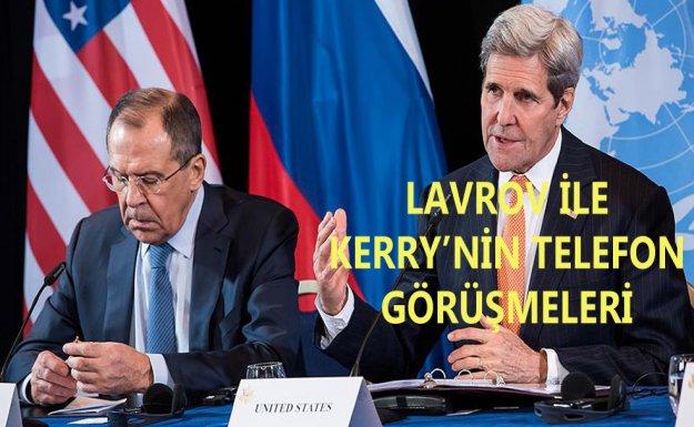 Lavrov ile Kerry Suriye'deki Ateşkes İhtimalini Görüştü