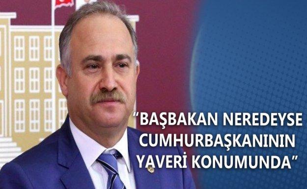 CHP'li Gök: Başbakan Neredeyse Cumhurbaşkanının Yaveri Konumunda