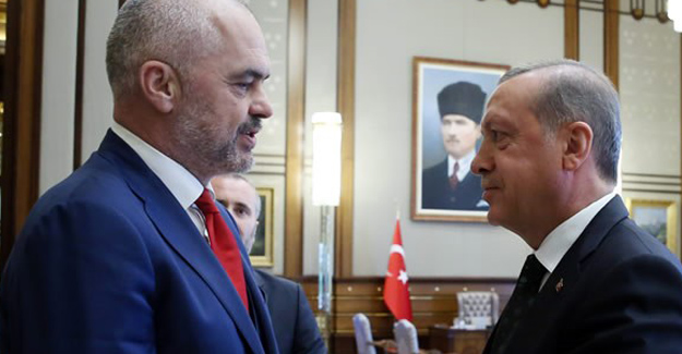 Cumhurbaşkanı Erdoğan, Rama'yı kabul Etti