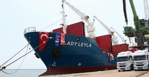 Gazze'ye Yardım Götürecek Geminin Adı Lady Leyla