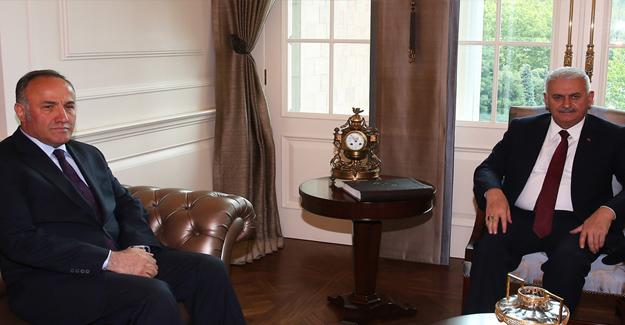 Başbakan Yıldırım, MGK Genel Sekreteri Hacımüftüoğlu'nu Kabul Etti