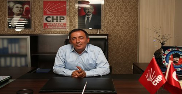 CHP Antalya İl Başkanı Mustafa Erdem Oldu