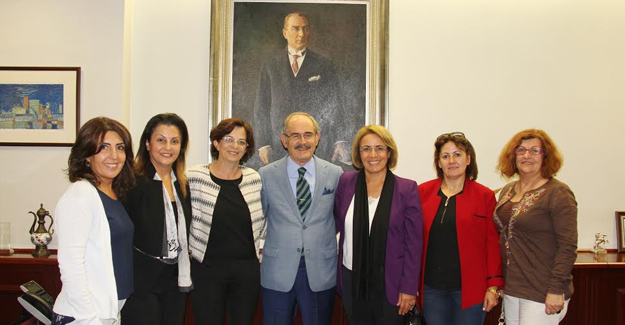 CHP Kadın Kolları Başkanı Köse Büyükerşen'i Ziyaret Etti