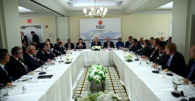 Cumhurbaşkanı Erdoğan Coca Cola CEO'su Kent'i Kabul Etti